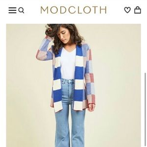 ModCloth checkered sweater